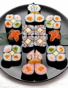 Making sushi is an art and experience is everything!