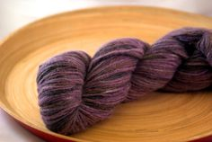 Purple Mountain Majesty Fingering Weight Hand by ClothosThreads, $14.00 #teamupcyclers