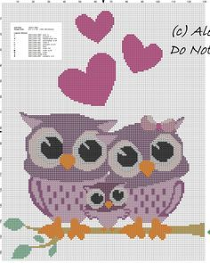 Owls family free cross stitch pattern.jpg
