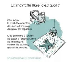 Le Vrai-Faux de la motricité libre · How I Play with my mome Montessori Education, Waldorf Education, Baby Education, Umea, Maria Montessori, Baby Milestones, Happy Baby, Teaching Tools, Baby Wearing