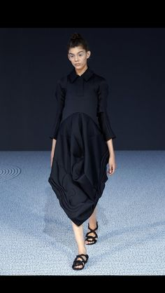 Victor & Rolf Haute Couture Fall 2013.  Talk about an edgy black smock!