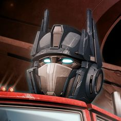 Optimus Prime - He almost looks disturbed by something. XD OP, did you find Megs/SS fanfics?