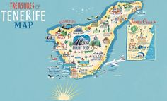 Tenerife map - Anna Simmons