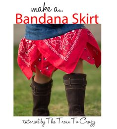 Need to dress a cowgirl? Whip up this banana skirt in minutes! | Go To Sew
