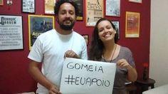 Cineclube Buraco do Getúlio, de Nova Iguaçu, apoiam a campanha da Gomeia