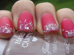 Matted nails.. wish i could do this to my nails lol :)