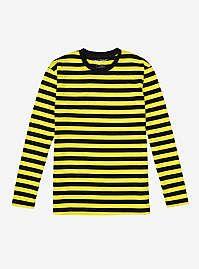 Disney Alice In Wonderland Vintage Alice Girls Tank Yellow Stripes, Black N Yellow, T Shirt Image, Blue Hoodie, Black Skinnies, Shirt Sleeves, The Help, Long Sleeve, Clothes