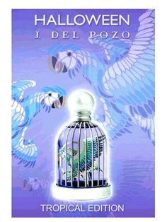 Halloween Tropical Halloween perfume - a fragrance for women 2006 Perfume Ad, Perfume Bottles, Halloween Perfume, Halloween Series, Fragrance, Tropical, Floral, Anime, Image