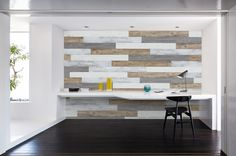 Design Next Door is your resource for design and decor inspiration and easy DIY projects for your home. Man Cave Accent Wall, Accent Walls, Accent Wall Designs, Wood Sample, Moldings And Trim, Farmhouse Interior, Next Door, Weathered Wood, Easy Diy Projects