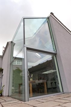 Trombé :: Contemporary Modern Conservatories and Conservatory Design London :: Structural Glazing Glass Extension, Extension Ideas, Modern Conservatory, Brooklyn Brownstone, Skylight, Modern Contemporary, Facade, Exterior, Conservatories