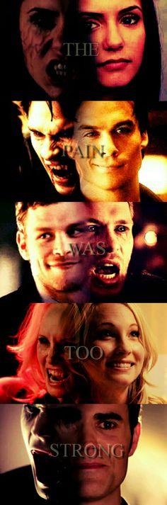 The vampire diaries vampires