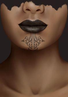 Tribal Tattoo Designs, Tribal Tattoos, Maori Tattoo Designs, Head Tattoos, Maori Tattoos, Borneo Tattoos, Polynesian Art, Polynesian Culture, Polynesian People