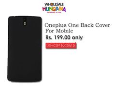 Amazing Oneplus One Black Back Cover   #oneplus #neversettle #oneplusonecover #casecovers