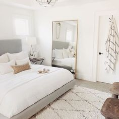 Who else has a busy weekend ahead of them? Ours is filled with the hubs birthday Who else has a busy weekend ahead of them? Ours is filled with the hubs birthday for the master bedroom Bedroom Inspo, Home Decor Bedroom, Bedroom Ideas, Clean Bedroom, Small Room Bedroom, Bedroom Inspiration, Small Rooms, Small Spaces, Design Inspiration