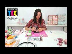 Flor em Scrapbook com produtos Toke e Crie! - YouTube