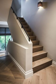 Ideas flooring farmhouse stairs Best Picture For Stairs landing For Your Taste You are looking for something, and it is going to tell you exactly what you are looking for, and Farmhouse Stairs, Farmhouse Flooring, Stair Landing, Basement Stairs, Boutique Homes, Staircase Design, Classic House, House Goals, Stairways