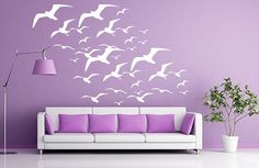 not only is it my favorite color, but i love birds! :)