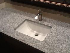 "Meteorite white granite.  Kitchen Counter top Choice.  4"" Backsplash is the Same?"