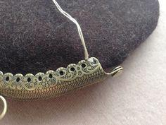 縫いつけがま口 縫い方のバリエーション 3  | cherin-cherin 通信 Frame Purse, Purses, Sewing, Crochet, Bracelets, Silver, Handmade, Bags, Jewelry