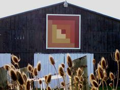 Barn as canvas -The quilt trails are part of a growing phenomenon that has swept across rural America involving 29 states and two Canadian provinces. The concept began a decade ago by one Donna Sue Groves, paying tribute to her mother, a fifth-generation quilter, by painting a quilt square pattern on the family's farm in Manchester, Ohio. It is estimated that more than 3,000 barns are adorned with quilt patterns.