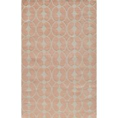Momeni 'Lil Mo Trellis' Pink Cotton Rug - Overstock™ Shopping - Great Deals on Momeni 5x8 - 6x9 Rugs