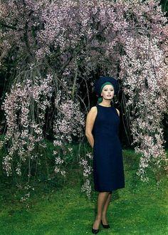 Sophia Loren photographed in a park in Rome. Photo: Mario de Biasi, 1964.