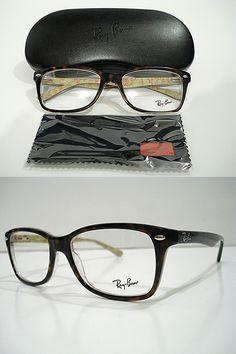 da0a5adb14 Eyeglass Frames  Ray Ban Rb5228 Rb 5228 5057 Havana Tortoise Eyeglasses Rx-Able  Frame