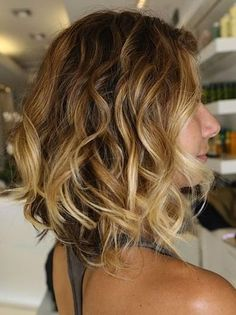 An ombre long bob  YES PLEASE!                                                                                                                                                                                 More