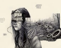 Surreal Illustrations by Pat Perry | Cuded