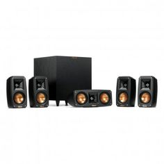 Klipsch Reference-Theater-Pack-5-1 Black Home Theater