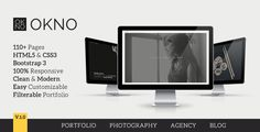 OKNO: Responsive Multipurpose HTML5 Template • Download theme ➝…