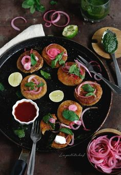 Dahi kebabs or yogurt fritters are the perfect vegetarian snack or appetizer. Made of hung curd or dahi, the kebabs are pan fried in minimal oil. They are flavorful and melt in your mouth soft, filled with cheese and paneer for a deliciousness that goes beyond the usually paneer tikka. Bonus: takes just 30 mins to make.