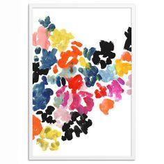 Kate Spade Saturday Wall Art, Painted Floral