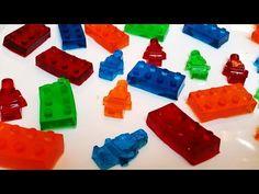 Como hacer gomitas dulces de LEGO (Gomitas de Gelatina)