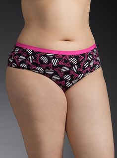80969cd12 Plus Size Barbie Print Hipster Panty