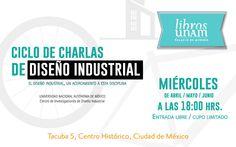 ¿Qué es el #DiseñoIndustrial y cómo contribuye a nuestra vida diaria? Los esperamos los miércoles de abril, mayo y junio en el Palacio de Minería Mayo, Small Talk, June, Life
