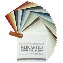 The Mercantile color collection from Colorhouse Paints