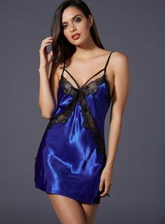 7be2aecaf7 Stephanie satin chemise Satin Nightie