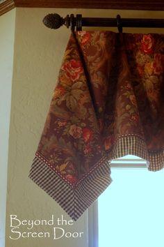 3 Easy-To-Make Handkerchief Style Valances