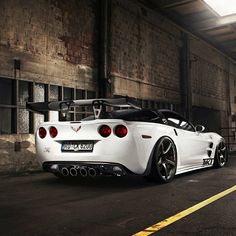 Awesome white Corvette! nice!!.son  s