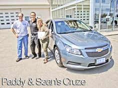 Paddy & Sean's new Chevrolet Cruze in Newmarket, Ontario   NewRoads Chevrolet Dealership