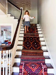 Sally Wheat Interiors Antelope Stair Runner Sally Wheat