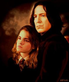 Hermione & Severus Photo: Hermione and Snape