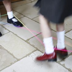 french skipping elastic