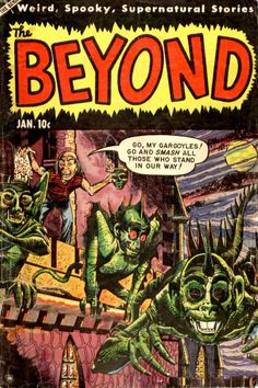 Comic Book Cover For The Beyond #24