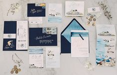 California Boho Meets Coastal Santorini in this Dreamy Greek Wedding - Green Wedding Shoes Wedding Invitations With Pictures, Country Wedding Invitations, Elegant Invitations, Wedding Stationary, Cheap Invitations, Reception Invitations, Invitation Kits, Shower Invitations, Santorini Wedding