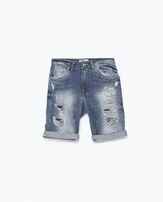 ZARA - MAN - DENIM SHORTS