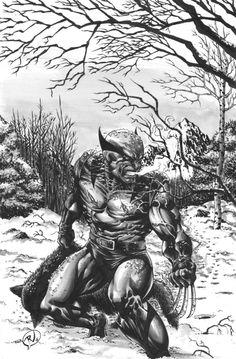Wolverine by Rudy Vasquez