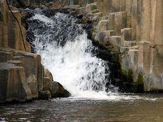 Hexagon Pool Waterfall, Golan Heights, Israel