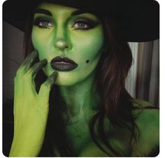 www.rxskincenter.com for your #mehron #cinemasecrets or #graftobian makeup products Halloween Makeup Witch, Horror Halloween Costumes, Chic Halloween, Witch Makeup, Witch Costumes, Halloween Make Up, Halloween 2020, Wicked Witch Costume, Holiday Costumes